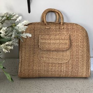 Handbags - Rattan/Wicker Tote